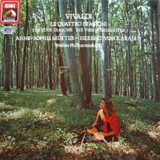 Vivaldi* - Anne-Sophie Mutter, Wiener Philharmoniker, Herbert Von Karajan - Le Quattro Stagioni / The Four Seasons / Die Vier Jahreszeiten (LP, Album, Gat)