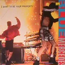 """Blue Mercedes - I Want To Be Your Property (12"""", Single)"""