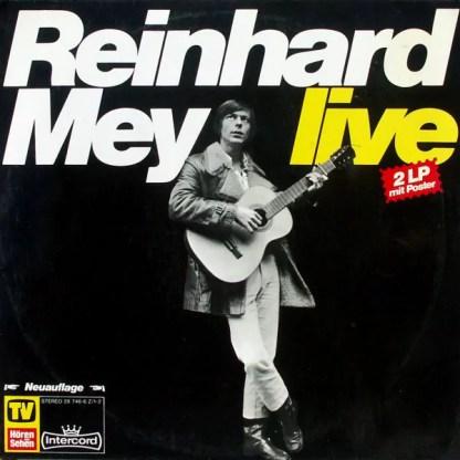 Reinhard Mey - Live (2xLP, Album, RE, Red)