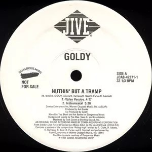 """Goldy (2) - Nuthin' But A Tramp (12"""", Promo)"""