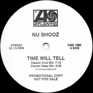 """Nu Shooz - Time Will Tell (12"""", Promo)"""