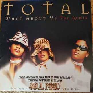 "Total - What About Us (The Remix) (12"")"