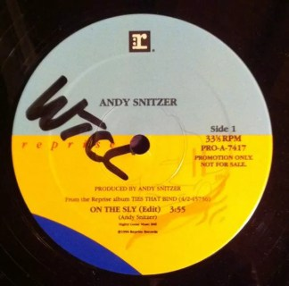 """Andy Snitzer - On The Sly (12"""", Promo)"""