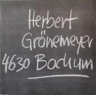 Herbert Grönemeyer - 4630 Bochum (LP, Album)