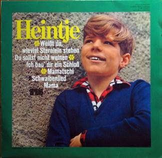Heintje - Ich Bau' Dir Ein Schloß (LP, Album)