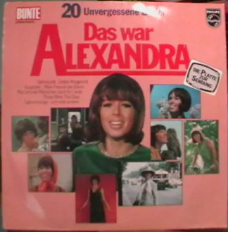 Alexandra (7) - 20 Unvergessene Lieder - Das War Alexandra (LP, Comp)