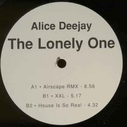 "Alice Deejay - The Lonely One (2x12"")"
