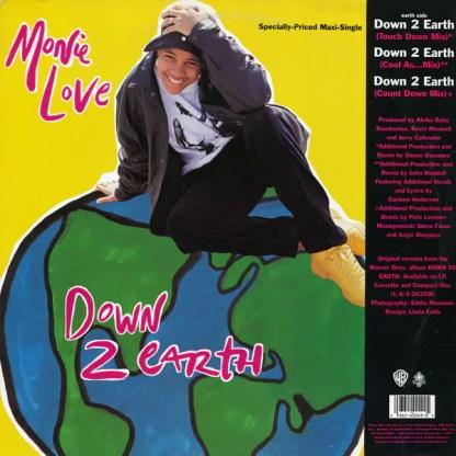 """Monie Love - Down 2 Earth / Don't Funk Wid The Mo (12"""")"""