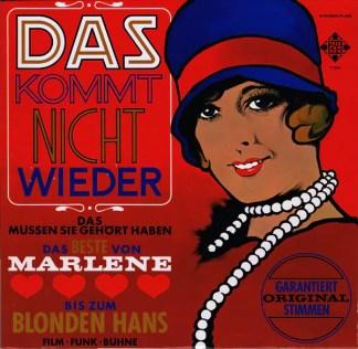 Various - Das Kommt Nicht Wieder (LP, Comp, S/Edition)