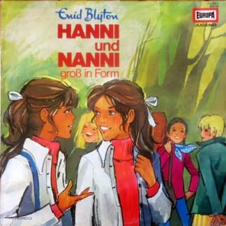 Enid Blyton - Hanni Und Nanni Groß In Form (LP, RP)