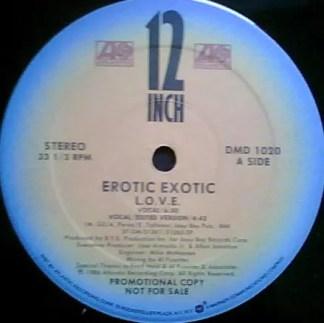"Erotic Exotic - L.O.V.E. (12"", Single, Promo)"