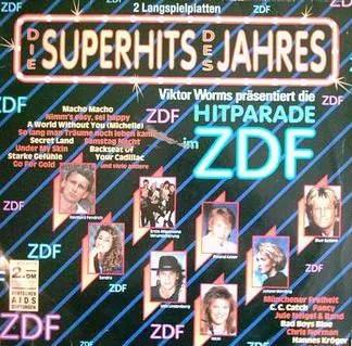 Various - Die Superhits Des Jahres - Viktor Worms Präsentiert Die Hitparade Im ZDF (2xLP, Comp)