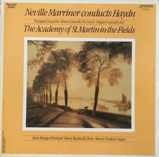 Joseph Haydn - Neville Marriner Conducts Haydn (LP)