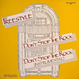"Freestyle - Don't Stop The Rock (12"")"
