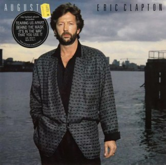 Eric Clapton - August (LP, Album, Gat)