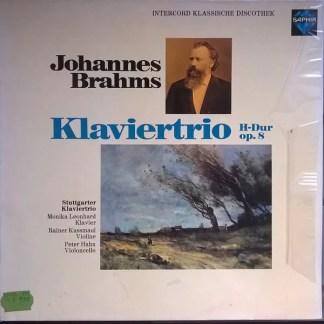 Johannes Brahms  - Stuttgarter Klaviertrio - Klaviertrio H-Dur Op.8 (LP)