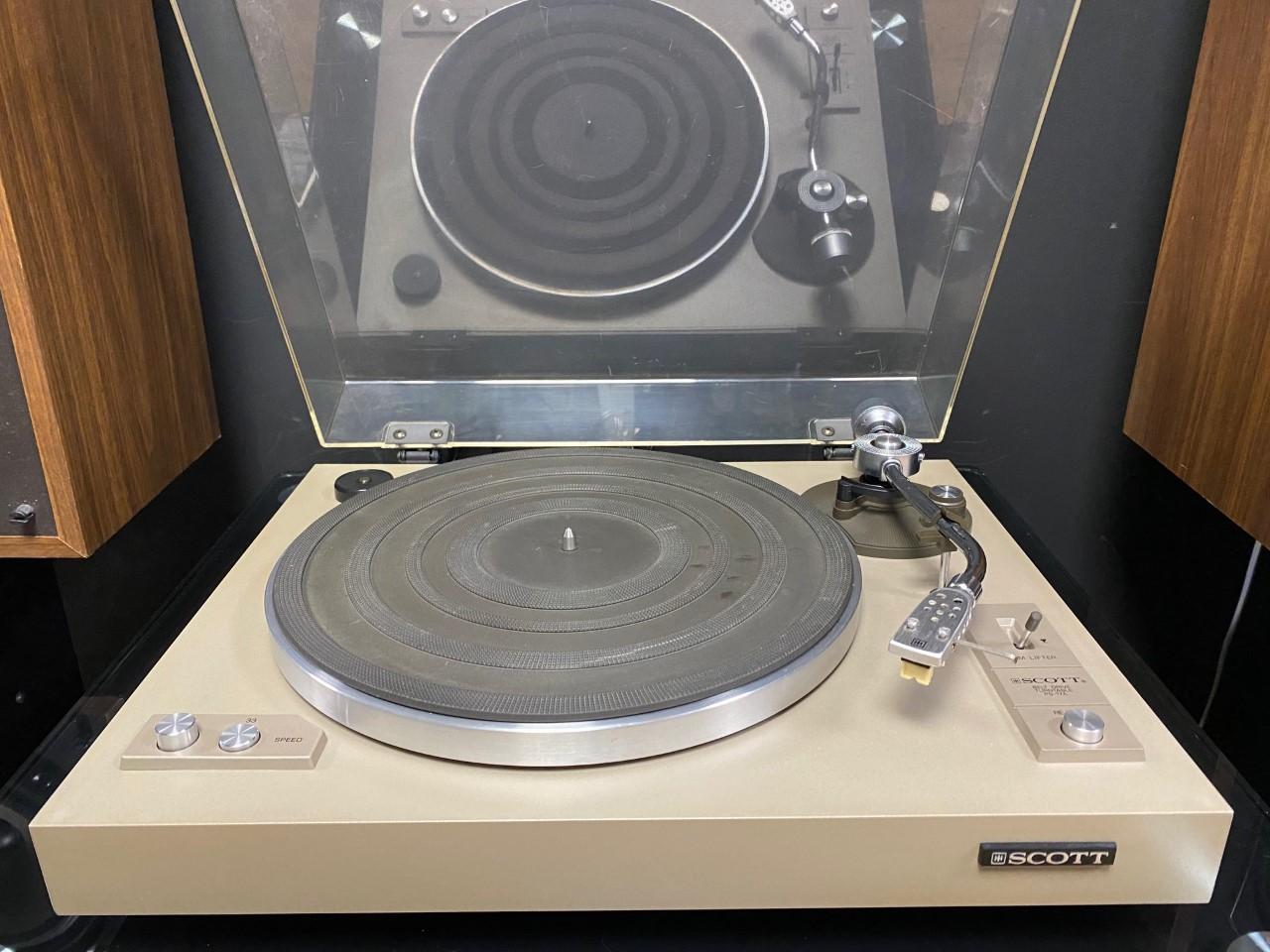 platine vinyle scott ps17
