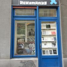 Schaufenster von Rekomando Record Store