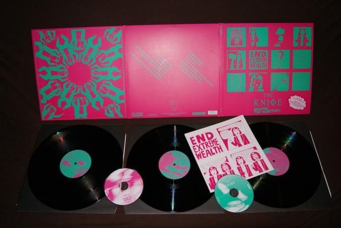 The Knife - Shaking The Habitual 3 Vinyl Gatefold Edition
