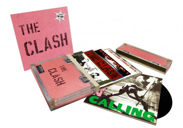 The Clash 5LP Album Studio Vinyl Boxset