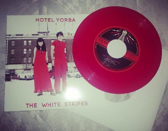 The White Stripes - Hotel Yorba on Red Vinyl
