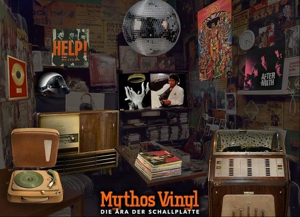Mythos Vinyl - Ausstellung im Museum Neukoelln