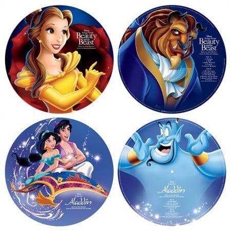 Disney Soundtracks auf Vinyl Picture Disc