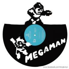 Tincat - Vinyl Art Megaman