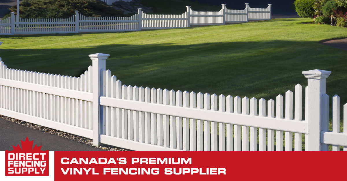 Vinyl Fence Canada 30 Pvc Fence Styles Direct Fencing