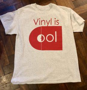 t-shirt vinyl is cool first design