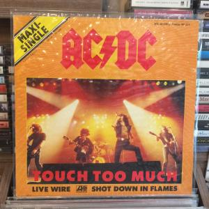 AC DC - TOUCH TOO MUCH MAXI SINGLE