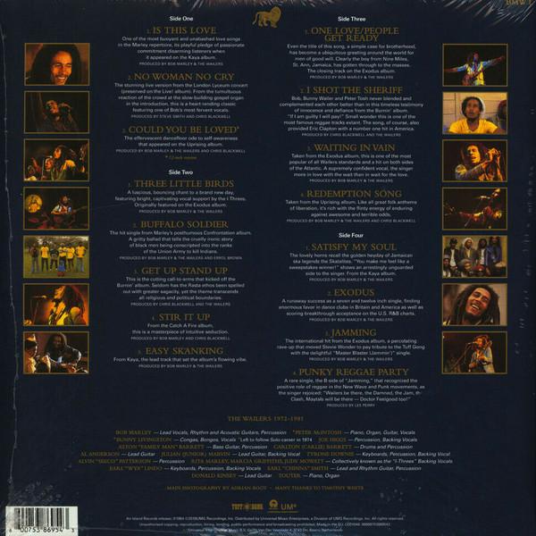 BOB MARLEY - THE LEGAND LP