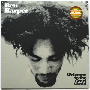 "BEN HARPER - WELCOME TO THE CRUEL WORLD Vinyl, LP, Album, 180 Gram, Gatefold Vinyl, 7"", 45 RPM, White"