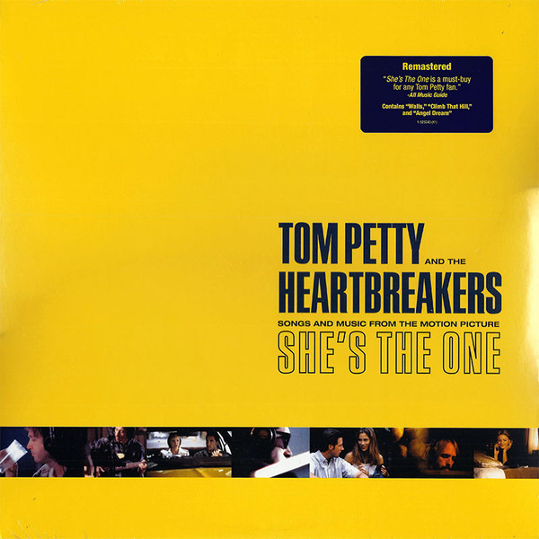 TOM PETTY AND THE HEARBREAKERS - SHE'S THE ONE SOUNDTRACK - Vinyl, LP, Album, Reissue, Remastered, Stereo, Record Industry Pressing