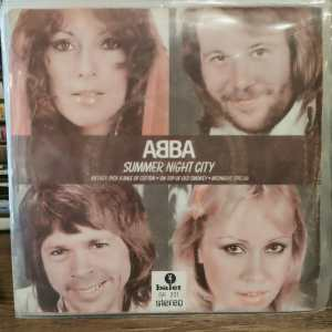 ABBA – SUMMER NIGHT CITY-45LİK
