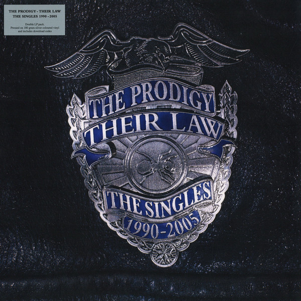 THE PRODIGY - THEIR LAW - THE SINGLES 1990-2005 - 2 × Vinyl, LP, Compilation, Reissue, Silver Marbled Translucent - PLAK