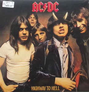 AC/DC - HIGHWAY TO HELL - Vinyl, LP, Album, Reissue, Remastered, - PLAK