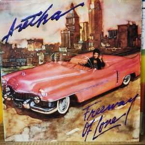 "ARETHA FRANKLIN - FREEWAY OF LOVE Vinyl, 12""MAXI SINGLE - PLAK"
