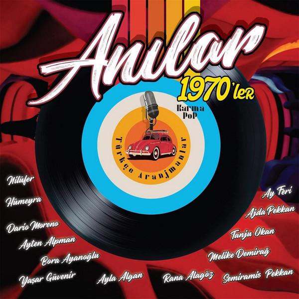 ANILAR 1970'LER - KARMA POP (TÜRKÇE ARANJMANLAR) - Vinyl, LP, Compilation - PLAK