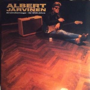 ALBERT JÄRVINEN - BRAINDAMAGE - OR STILL ALIVE - Vinyl, LP, Album - PLAK