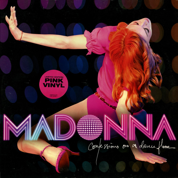 MADONNA - CONFESSIONS ON A DANCE FLOOR - 2 × Vinyl, LP, Album, Limited Edition, Pink - PLAK