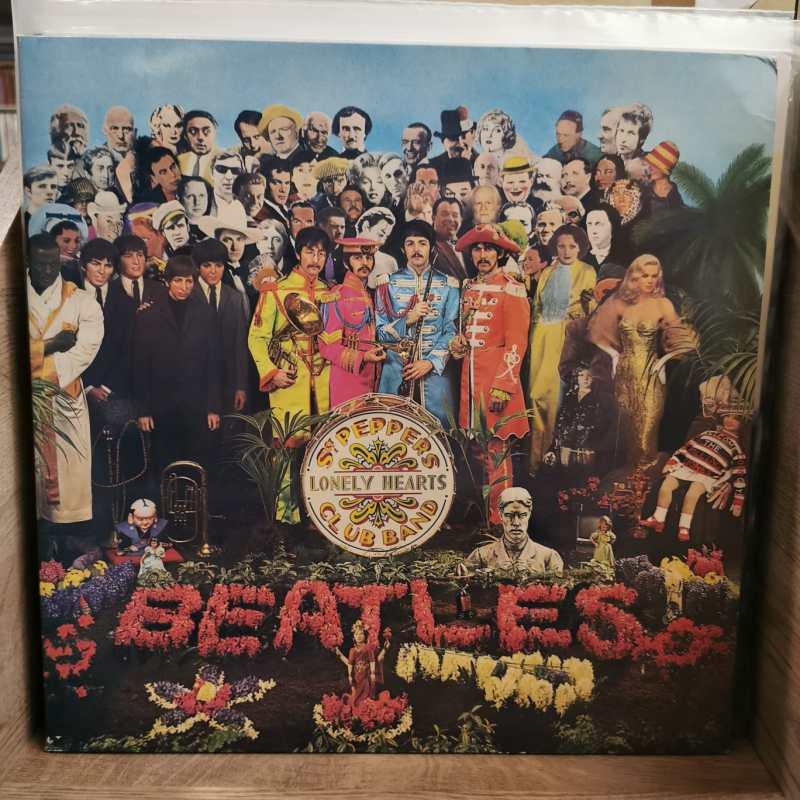 THE BEATLES-SGT. PEPPER'S LONELY HEARTS CLUB BAND - Vinyl, LP, Album, Reissue, -PLAK