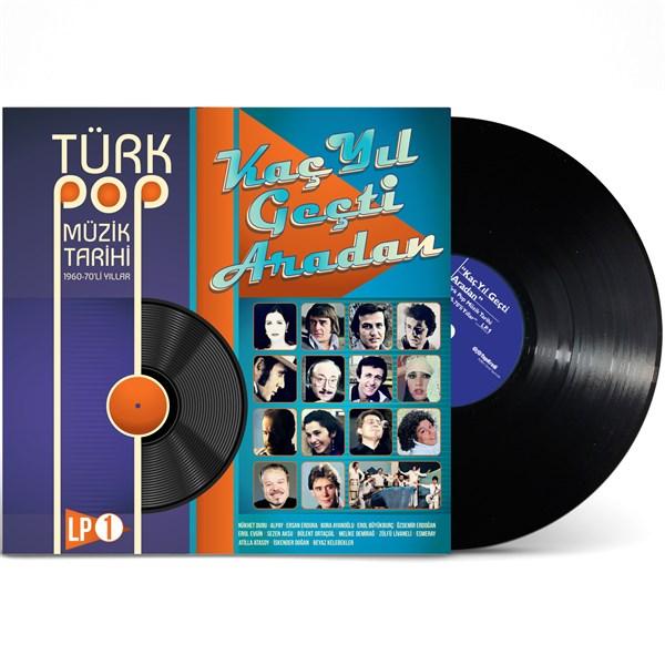 TÜRK POP MÜZIK TARIHI 1960-70'LI YILLAR Vinyl, LP - PLAK