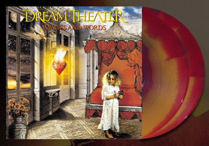 DREAM THEATER - IMAGES AND WORDS ON VINYL