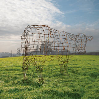 'The Wire Cow', artwork for 40th anniversary of 'Atom Heart Mother', 2009. © Pink Floyd Music Ltd