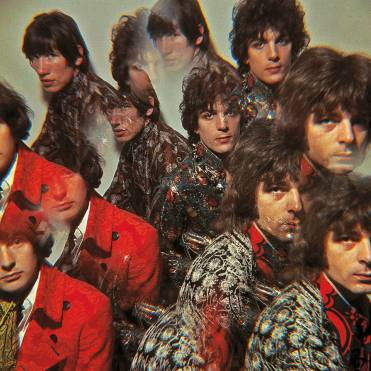 Album artwork, The Piper at the Gates of Dawn, 1967. Photograph by Vic Singh. Pink Floyd Archive