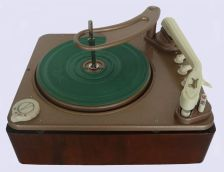 Dual 1005 turntable record player (Germany, 1957)