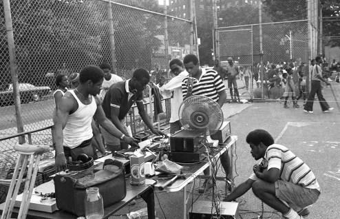 South Bronx Park Jam, 1984