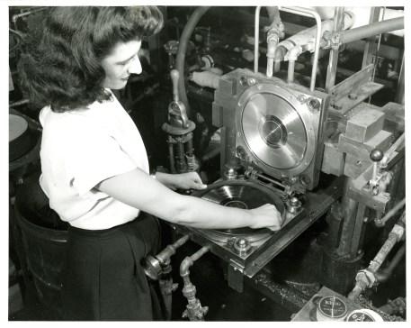 Pressing The Vinyl