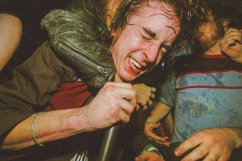 DAVID ASHBY OF THE LUDES IN THE CROWD